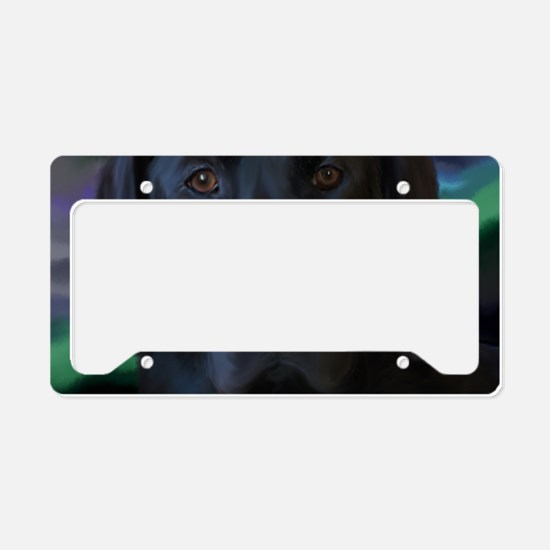 BlackLabLapTop License Plate Holder