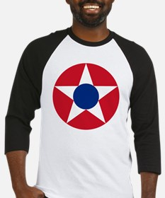 7x7-Roundel_of_the_Costa_Rican_Mil Baseball Jersey