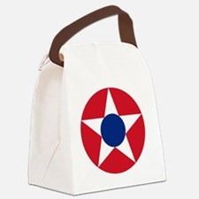 831x3-Roundel_of_the_Costa_Rican_ Canvas Lunch Bag
