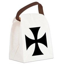 5x5-Cross-Pattee-Heraldry Canvas Lunch Bag