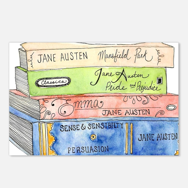 janeaustenbooks Postcards (Package of 8)