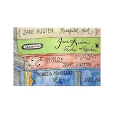 janeaustenbooks Rectangle Magnet