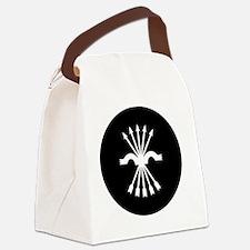 7x7-Nationalist_air_force_black_r Canvas Lunch Bag