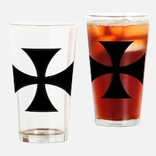 8x10-Cross-Pattee-Heraldry Drinking Glass