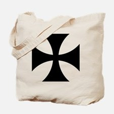 8x10-Cross-Pattee-Heraldry Tote Bag