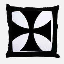 8x10-Cross-Pattee-Heraldry Throw Pillow