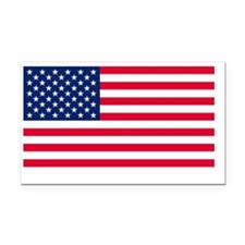 USA Flag Rectangle Car Magnet