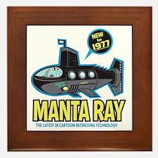 MantaRay Iron-On Framed Tile