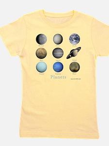 Planets-10x10_apparel Girl's Tee