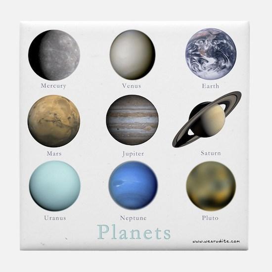 Planets-10x10_apparel Tile Coaster
