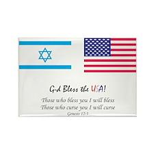 G-d_bless_USA_big_Tee_8_1_2011.gi Rectangle Magnet