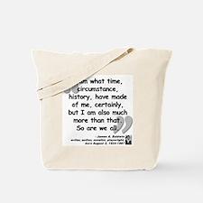 Baldwin More Quote Tote Bag