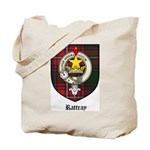 Rattray Clan Crest Tartan Tote Bag