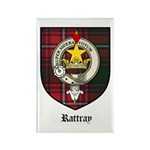 Rattray Clan Crest Tartan Rectangle Magnet (10 pac