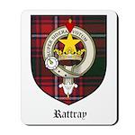 Rattray Clan Crest Tartan Mousepad