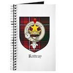 Rattray Clan Crest Tartan Journal