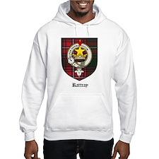 Rattray Clan Crest Tartan Hoodie