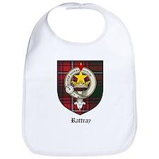 Rattray Clan Crest Tartan Bib