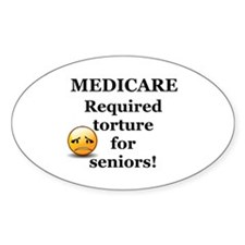 Medicare Oval Decal