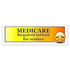 Medicare Bumper Bumper Sticker