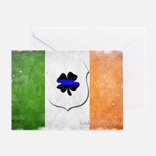 Irishcop copy16 Greeting Card