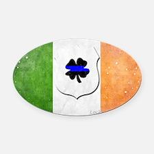 Irishcop copy16 Oval Car Magnet