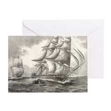16x20_smallPoster_USSconstitution Greeting Card