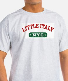 Little Italy NYC Ash Grey T-Shirt