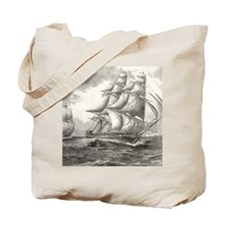 9x12_FramedPanelPrint_USSconstitution Tote Bag