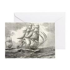 11x17_MiniPosterPrint_USSconstitutio Greeting Card