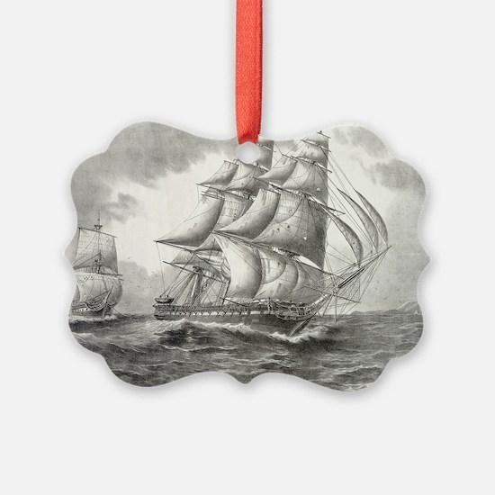 11x17_MiniPosterPrint_USSconstitu Ornament