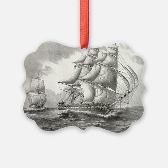 14x10_largeFramedprint_USSconstit Ornament