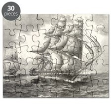 14x10_largeFramedprint_USSconstitution Puzzle