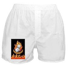 8 The Hard Way Boxer Shorts
