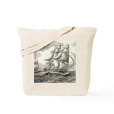11.5x9_CalendarPrint_USSconstitution Tote Bag