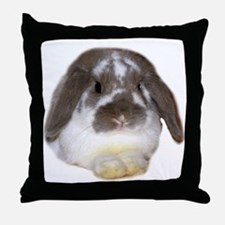 """Bunny 1"" Throw Pillow"
