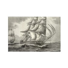 6x4_Postcard_USSconstitution Rectangle Magnet