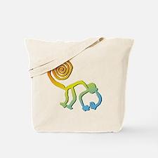 groovy monkey Tote Bag