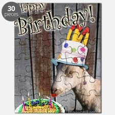 Happy Birthday from Ruby the Sassy Goat Puzzle