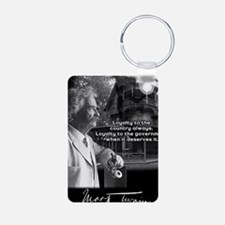 TwainPrint Aluminum Photo Keychain