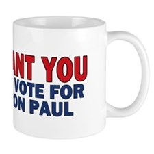 10x3_sticker_i_want_you_ron_paul Mug