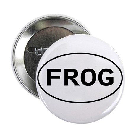 FROG - Knitting - Crocheting Button