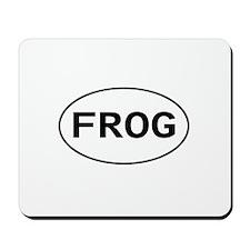 FROG - Knitting - Crocheting Mousepad