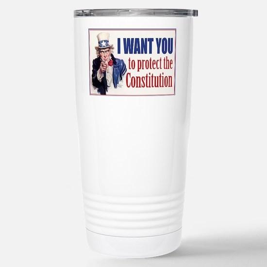 0828_US_CONST_z Stainless Steel Travel Mug