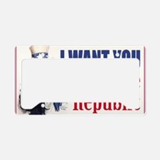 0828_US_repubZ License Plate Holder