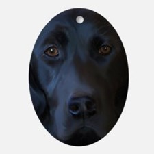 BlackLab23x35 Oval Ornament