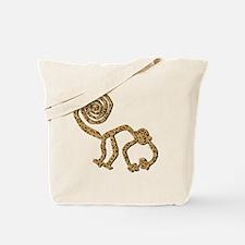 leopard monkey Tote Bag