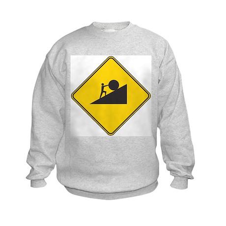 21st Century Sisyphus Kids Sweatshirt