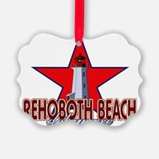Rehoboth Beach Lighthouse Ornament