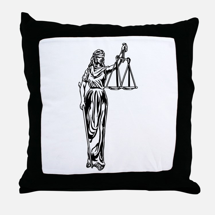 Throw Pillows With Jewels : Scales Of Justice Pillows, Scales Of Justice Throw Pillows & Decorative Couch Pillows